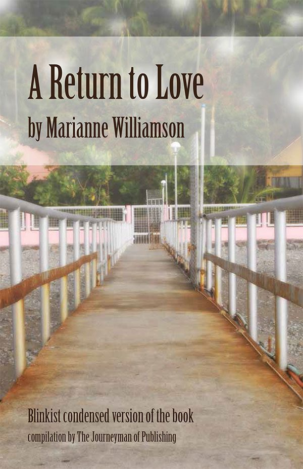A Return To Love cover art.